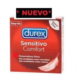 DUREX SENSITIVO SUAVE 144 UDS