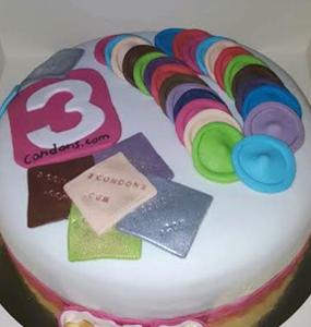 Primera tarta de 3condons.com