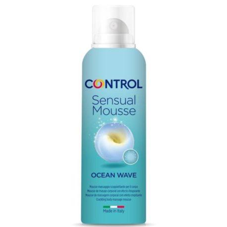 CONTROL CREMA MOUSSE MASAJE OCEAN WAVE, 125 ML