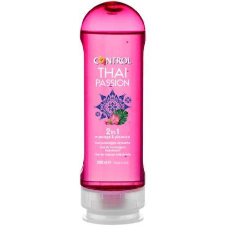 CONTROL THAI PASSION, 2 en 1, masaje y placer, 200 ml