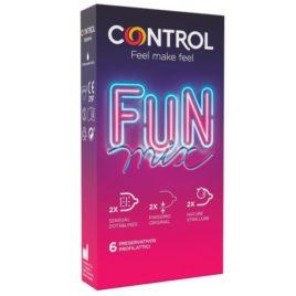 CONTROL FUN MIX – 6 UNDS