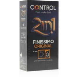 CONTROL DUO, 6 FINISSIMO + 6 LUBRICANTE