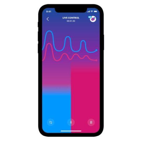 10-vibrador-para-parejas-con-app-double-joy-violeta