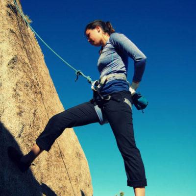 Arnés para escalada